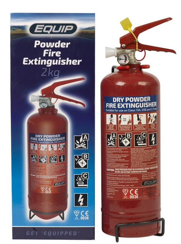 Equip Dry Chemical Powder Fire Extinguisher - 2kg