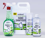 Rockland Hand Sanitiser 500ml 70% Alcohol | Case of 6 | 4.99 Each