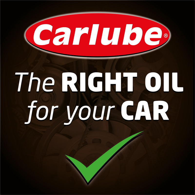 Carlube Triple R 10W-40 API SL Semi Synthetic Car Motor Engine Oil - 1L