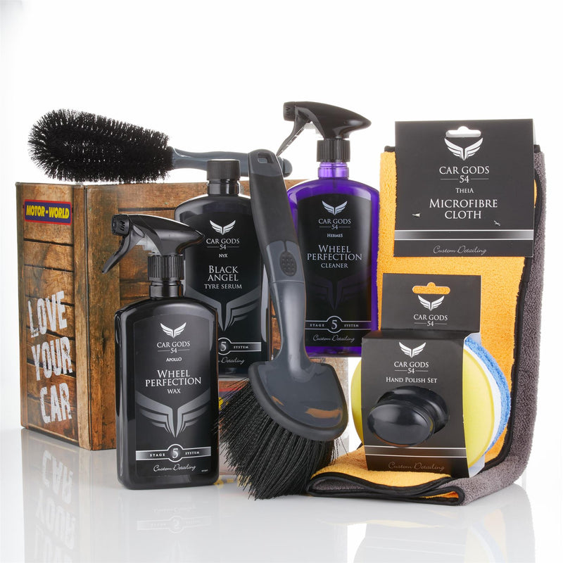 Car Gods Ultimate Wheel Cleaner and Detailing Kit