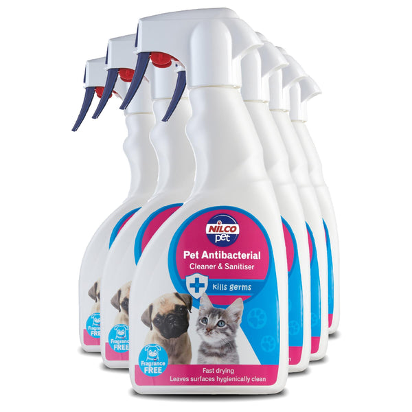 Nilco Pet Antibacterial Cleaner & Sanitiser Trigger - 500ml | Case of 6 | £4.74 Each