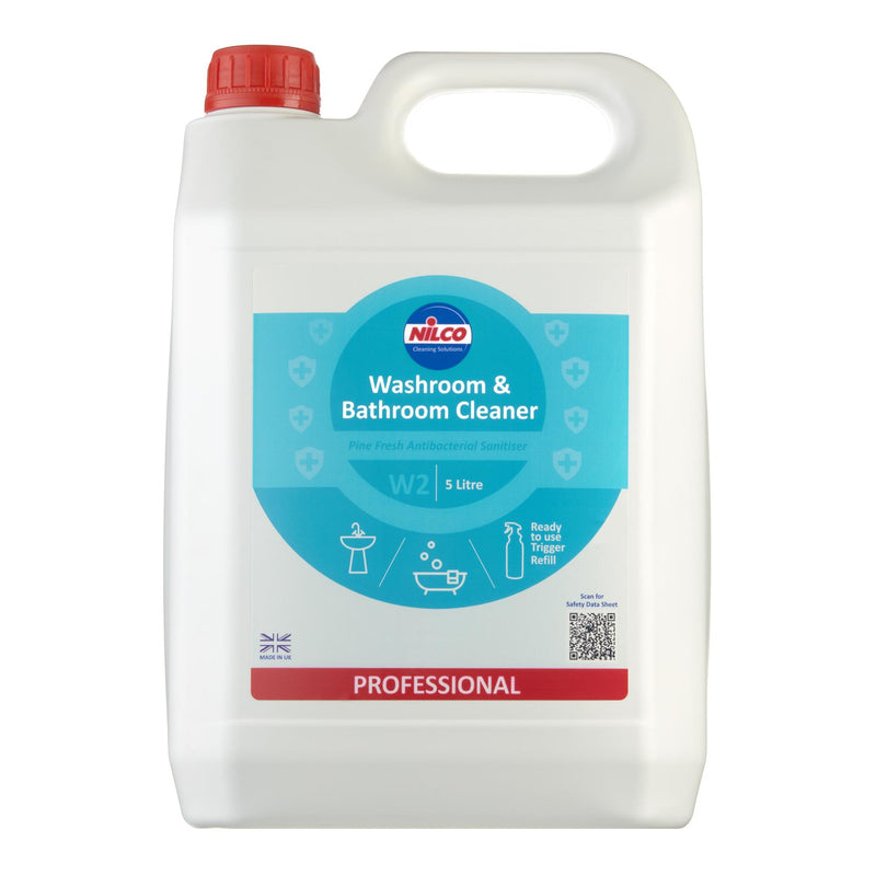 Nilco W2 Washroom & Bathroom Cleaner - 5L