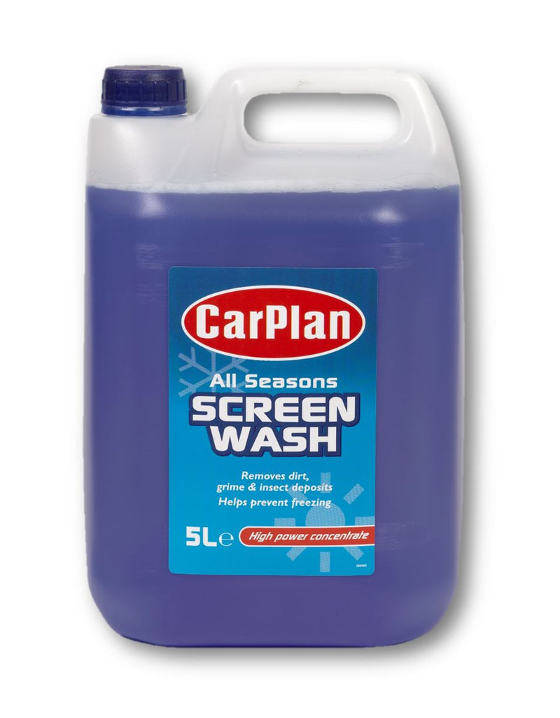CarPlan All Seasons Concentrated Screenwash - 5L