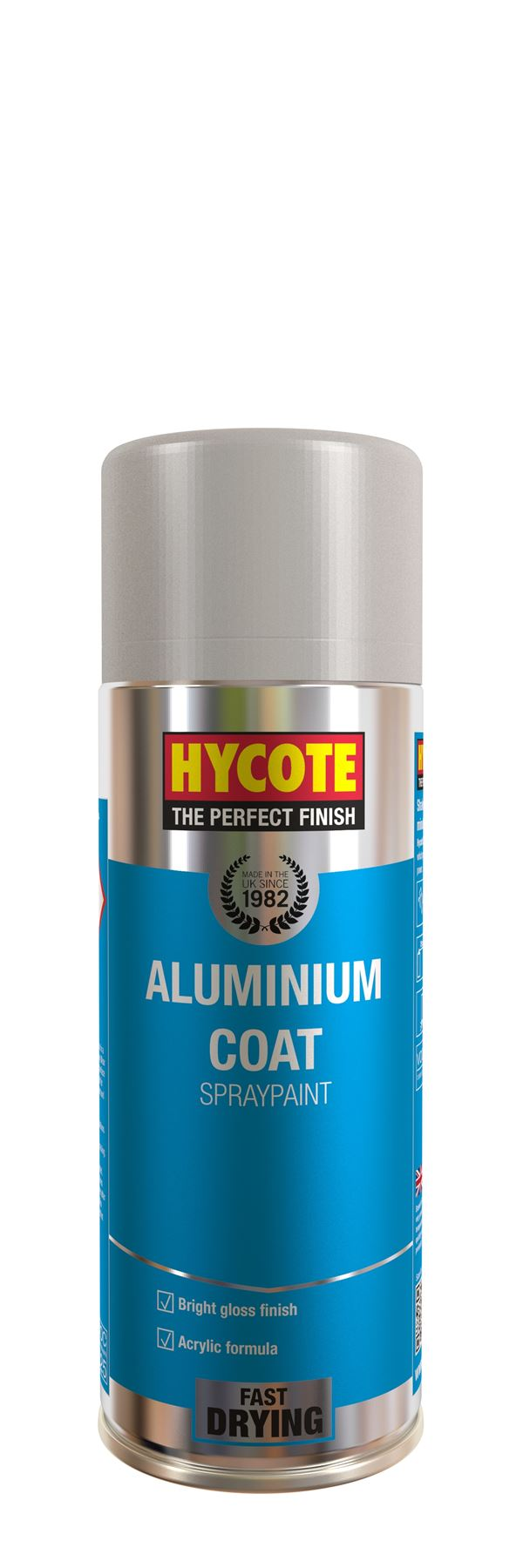 Hycote Aluminium Coat Paint - 400ml