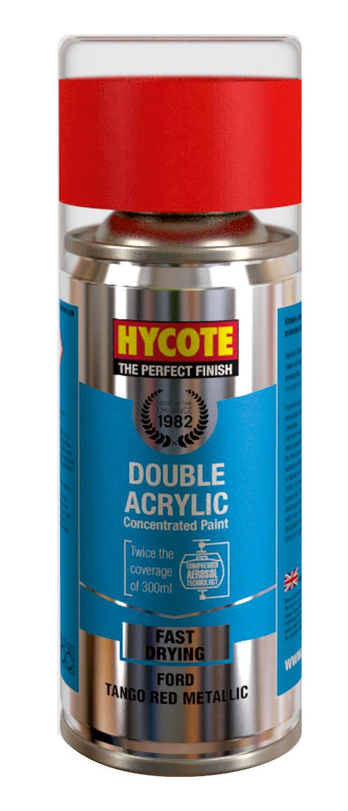 Hycote Gloss White Touch Up Paint - 150ml