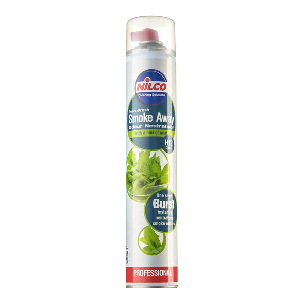 Nilco Power Fresh Smoke Away Aerosol Air Freshener - 750ml