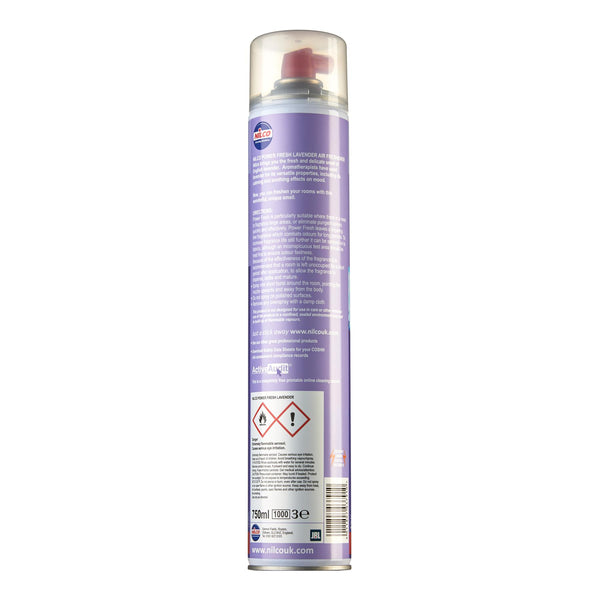 Nilco Power Fresh Lavender Aerosol Air Freshener - 750ml