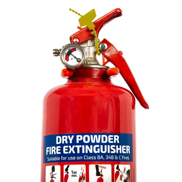 Equip Dry Chemical Powder Fire Extinguisher - 1kg