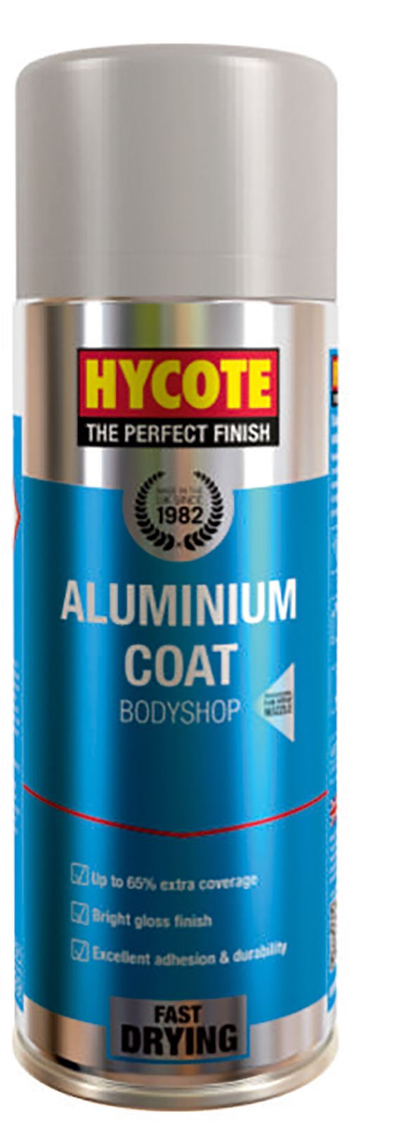 Hycote Bodyshop Aluminium Coat Paint - 400ml