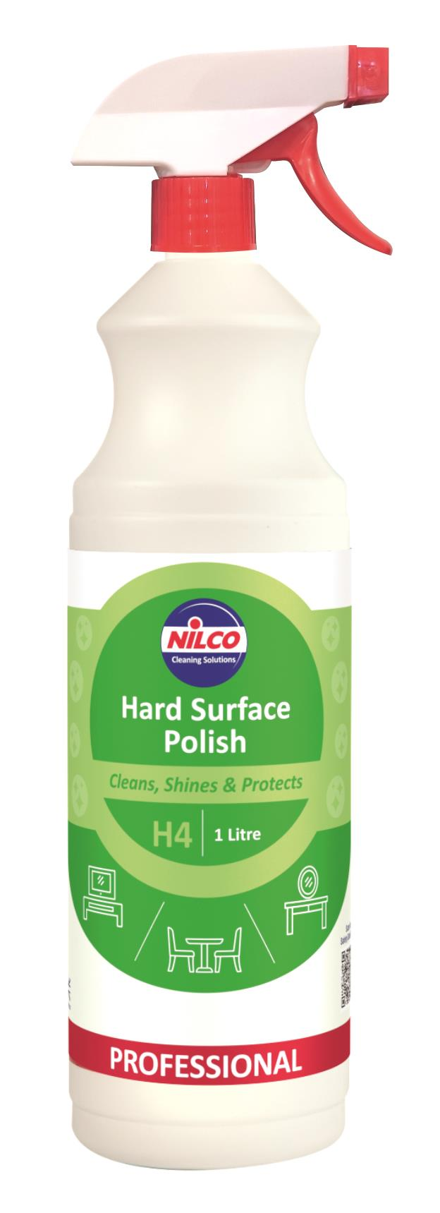 Nilco H4 Hard Surface Polish - 1L | Case of 6 | £5.53 Each