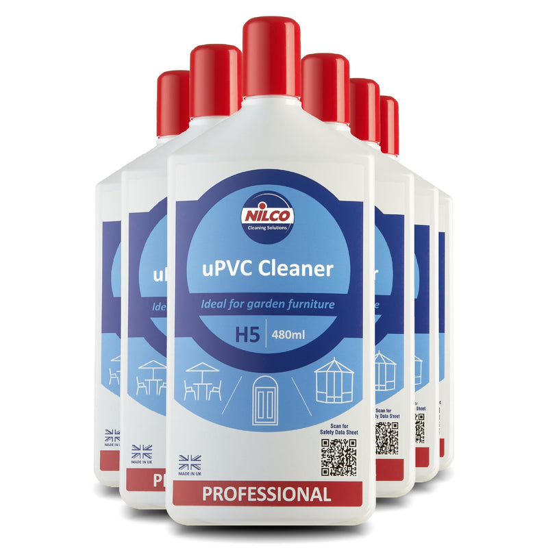Nilco H5 UPVC Cleaner Spray - 480ml | Case of 6 | £5.14 Each