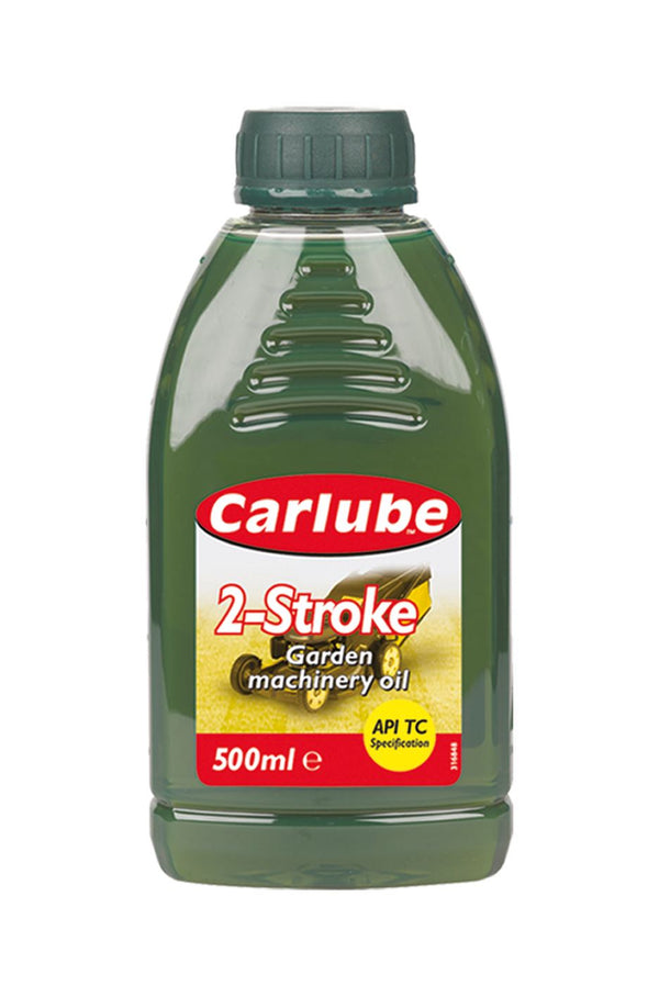 Carlube 2-Stroke Garden Machinery Oil - 500ml