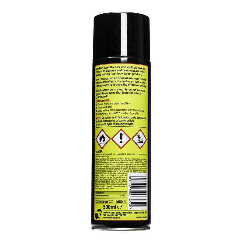 CarPlan Tyre Slik Dressing - 500ml