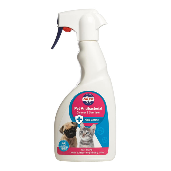 Nilco Pet Antibacterial Cleaner & Sanitiser Trigger - 500ml