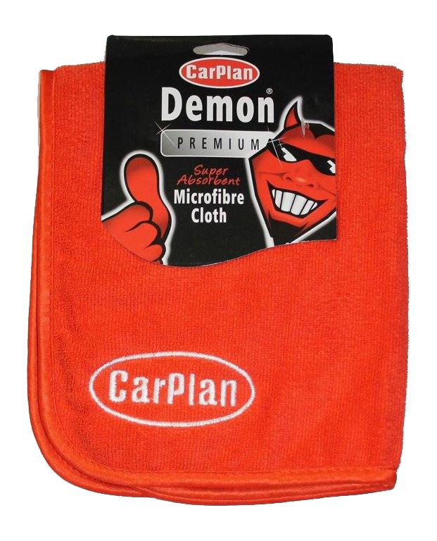 CarPlan Demon Super Absorbant Microfibre Cloth