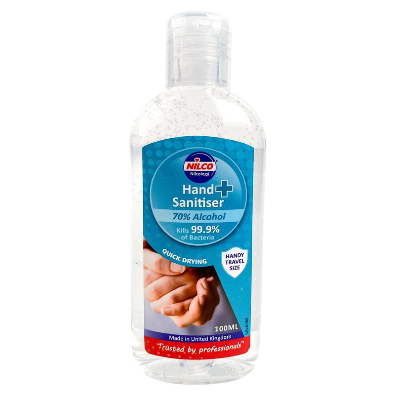 Buy A Case of 6 Nilco Nilbac 'Dry Touch' High Contact Sanitiser And Get A Case Of 100ml Nilco Hand Sanitiser FREE