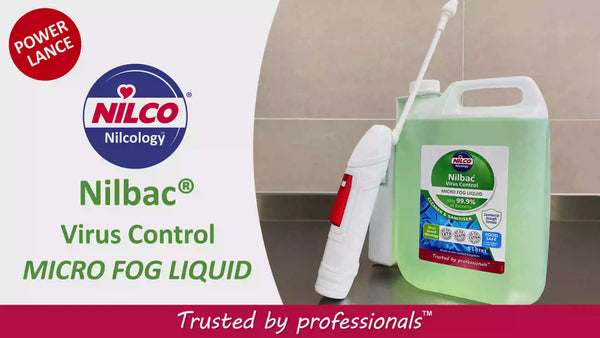Nilco Nilbac Virus Control Micro Fog Liquid & Battery Powered Sprayer