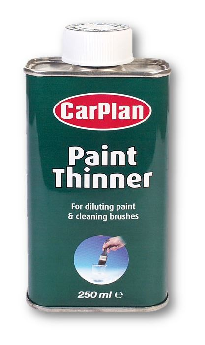 CarPlan Paint Thinner & Brush Cleaner - 250ml
