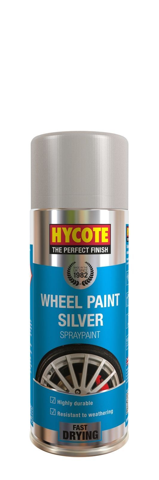 Hycote Silver Wheel Paint - 400ml
