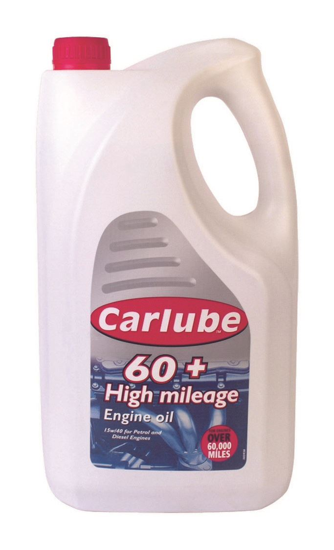 Carlube 60+ High Mileage Engine Oil - 4.55L