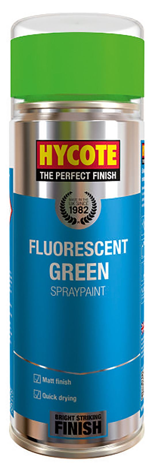 Hycote Fluorescent Green Paint - 400ml