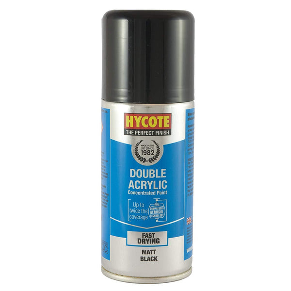 Hycote Matte Black Touch Up Paint - 150ml