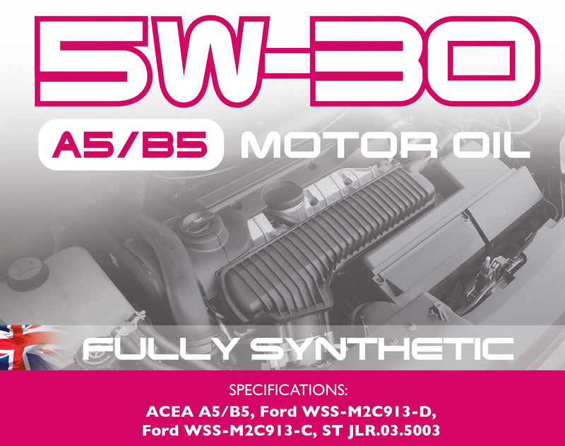 Carlube 5W-30 A5/B5 Fully Synthetic Engine Oil - 5L