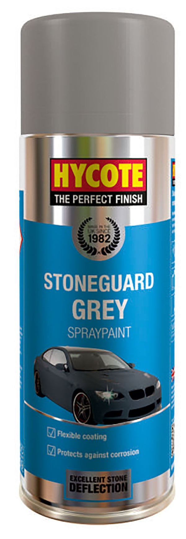 Hycote Stoneguard Grey Paint - 400ml