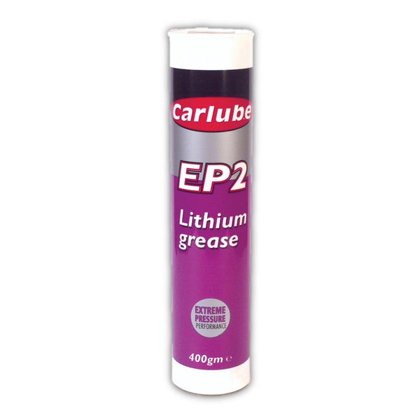 Carlube EP2 Lithium Grease Cartridge - 400g