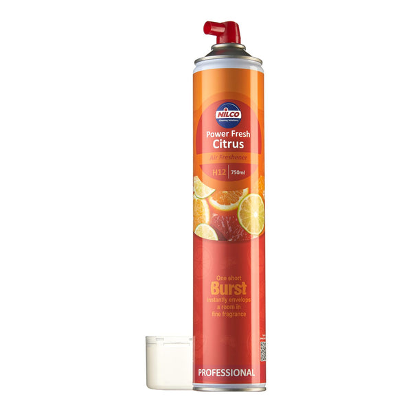 Nilco Power Fresh Citrus Aerosol Air Freshener - 750ml