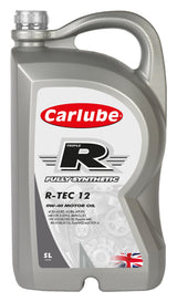 Carlube Triple R R-TEC 12 0W-40 Fully Synthetic Oil - 5L
