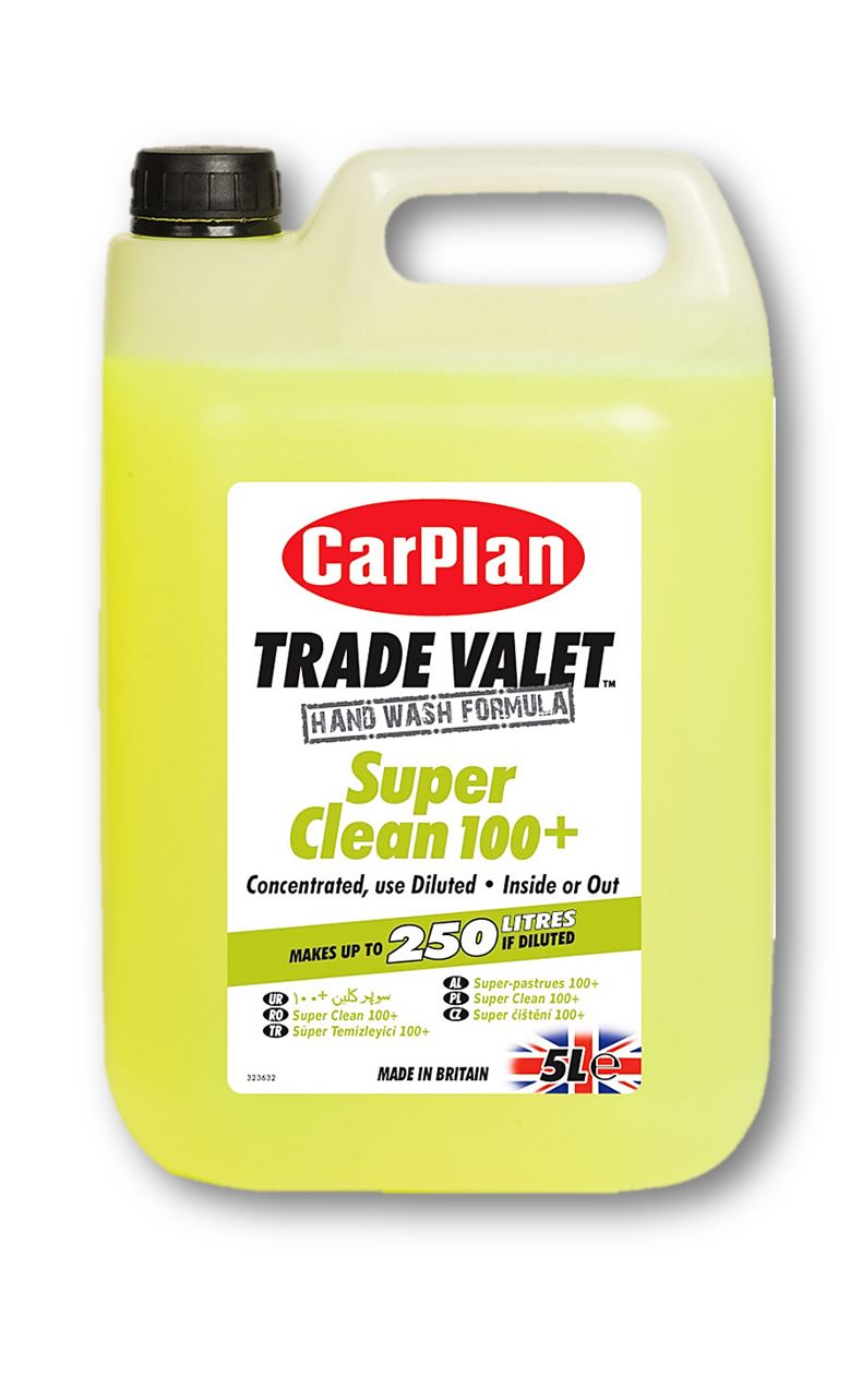 CarPlan Trade Valet Concentrated Super Clean 100+ - 5L