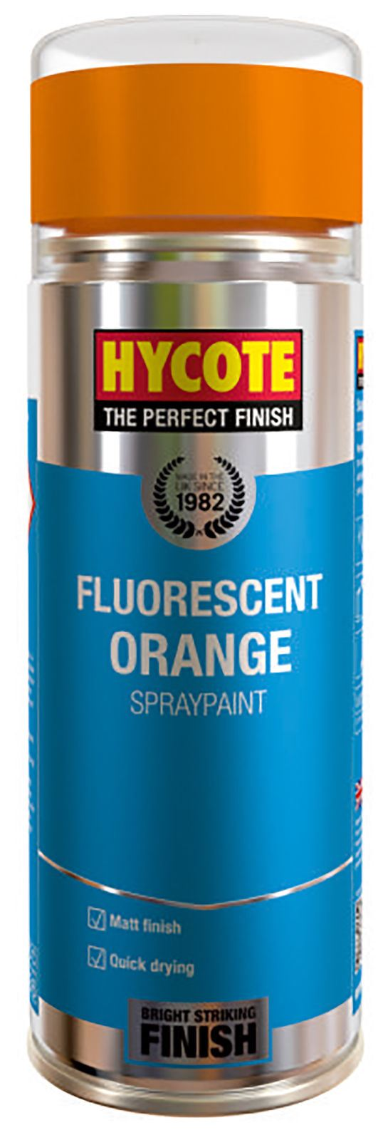 Hycote Fluorescent Orange Paint - 400ml