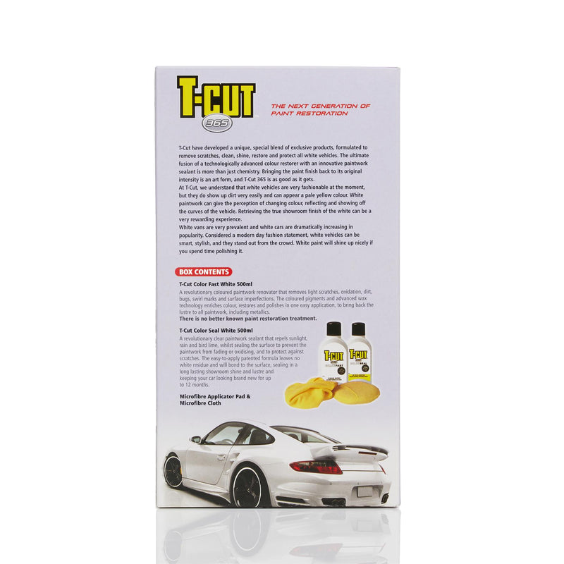 T-Cut 365 Pure White Paintwork Perfection Kit