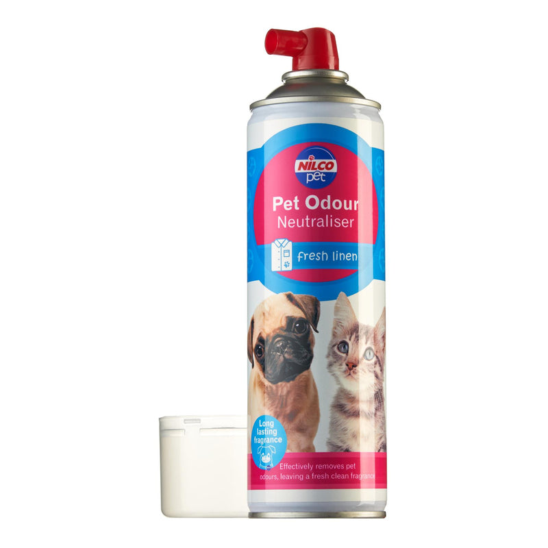 Nilco Pet Fresh Linen Odour Neutraliser Aerosol - 500ml