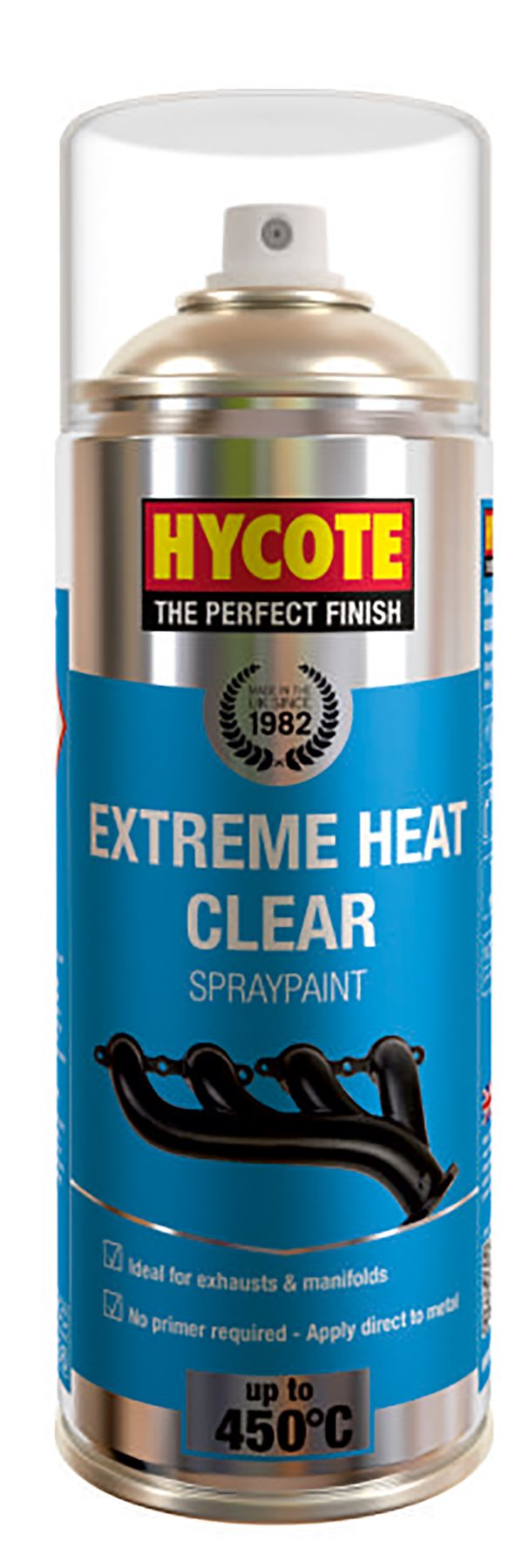 Hycote Extreme Heat Clear VHT Paint - 400ml