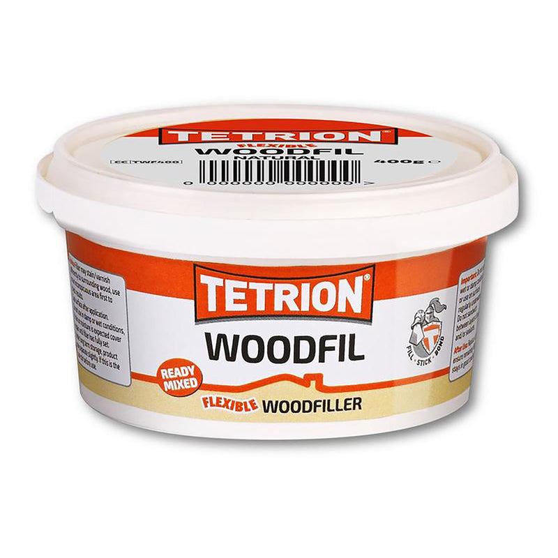 Tetrion Flexible Ready Mixed Woodfil - 400g