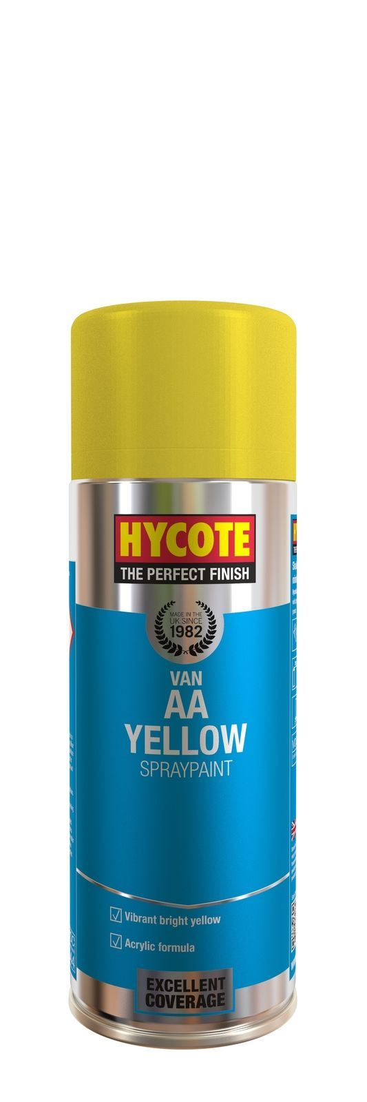Hycote AA Van Yellow Paint - 400ml