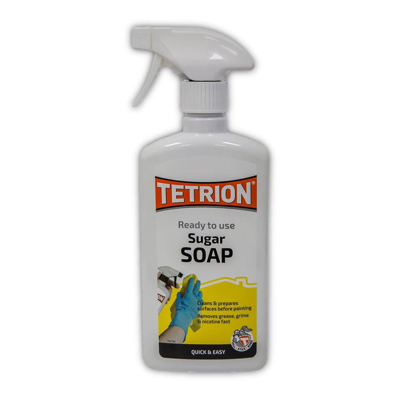 Tetrion Sugar Soap Trigger - 500ml