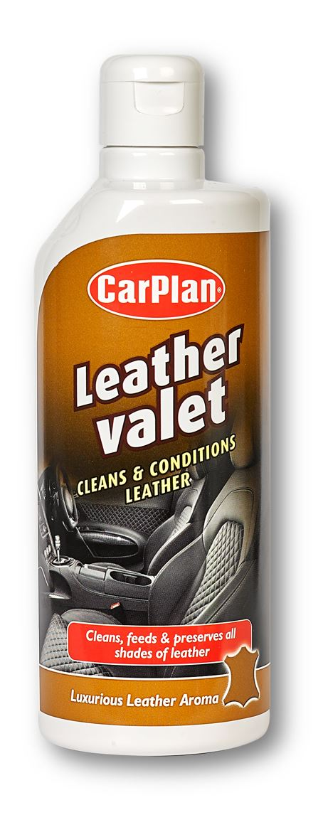 CarPlan Leather Valet Cleaner & Conditioner - 600ml