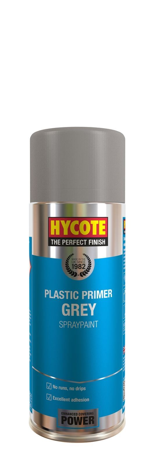 Hycote Grey Plastic Primer - 400ml