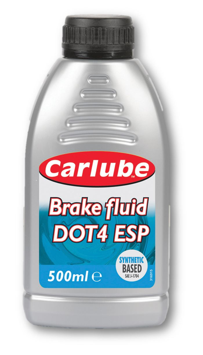 Carlube Brake Fluid DOT 4 ESP (Electronic Stability Program) - 500ml