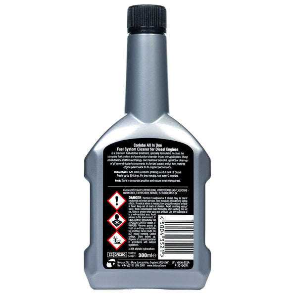 Carlube Fuel System Cleaner Diesel - 300ml