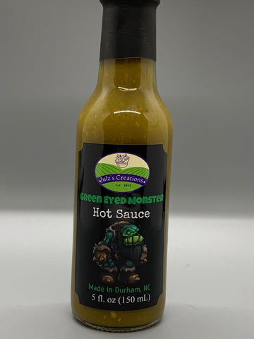 Green Eyed Monster Hot Sauce [heat 6-7/10]