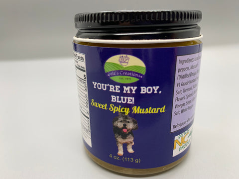You're My Boy, Blue! Sweet Spicy Mustard