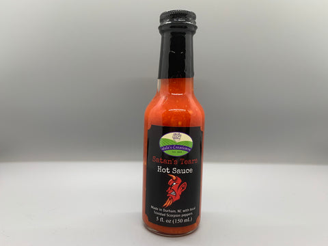 Satan's Tears Hot Sauce [9/10 heat]
