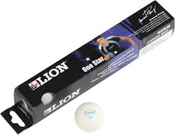 Lion One Star Practice Table Tennis Balls