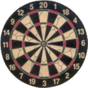 Dartboard Flocked