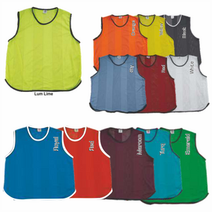 Soccer Bibs Set of 10 Jnr