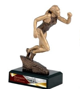 RTY3766 Resin Athletic Trophy 19.5cm